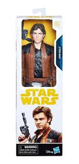 Han Solo Star Wars 30cm - Original Disney - Woopy