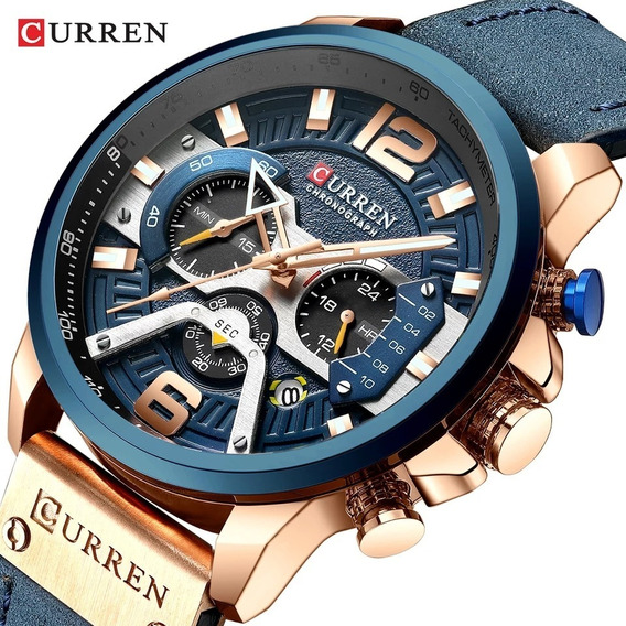 Relógio Curren 8329 Original Cronógrafo - Envio 24h