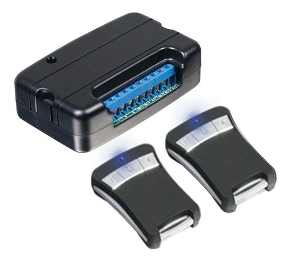 Receptor Inalámbrico De 3 Canales Con 2 Transmisores Alarma