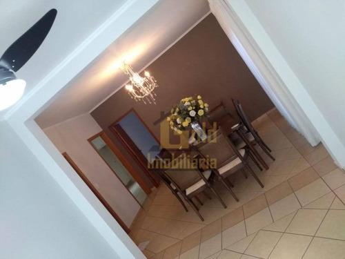 Casa Com 3 Dormitórios À Venda, 185 M² Por R$ 790.000 - Condomínio San Marco I- Ilha Cenerê - Bonfim Paulista/sp - Ca1157