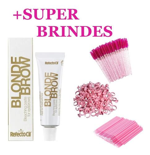 Imagem 1 de 9 de Tinta Blonde Brow Refectocil Tintura P/ Sobrancelhas Cilios