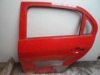 Porta Traseira Esquerda Volkswagen Gol G5 *vermelha