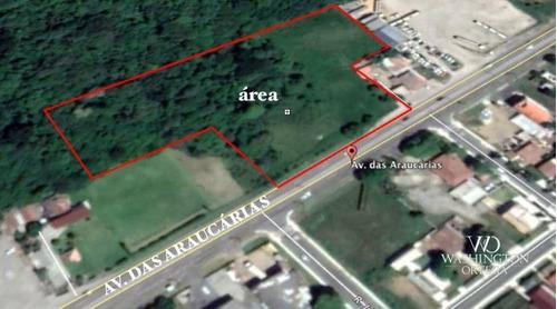Imagem 1 de 5 de Área À Venda, 13622 M² Por R$ 3.405.740,00 - Thomaz Coelho - Araucária/pr - Ar0049
