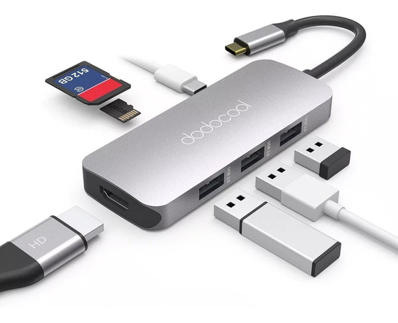Adaptador Hub Macbook / Ultrabook Dodocool Usb-c Hdmi 4k