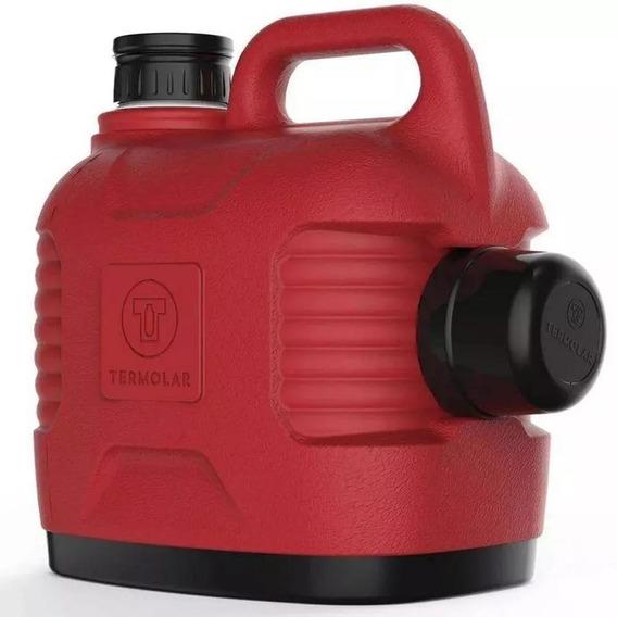 Garrafão Térmico Supertermo 5l Vermelho Termolar-1095vro
