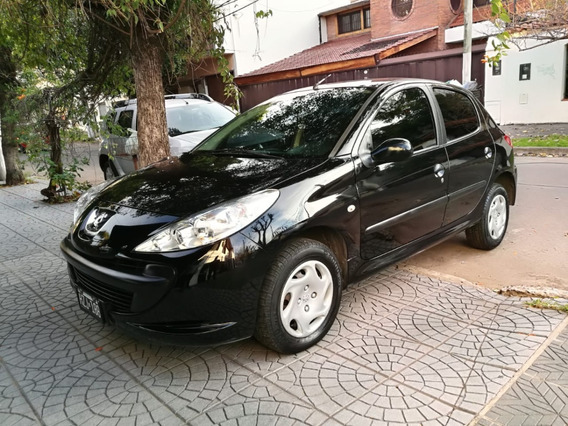 Peugeot 207 Compact Xr 2009 5 Puertas Negro Nafta