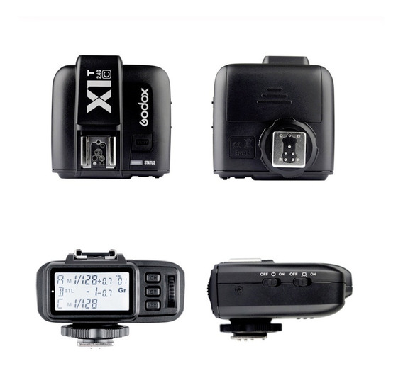 Godox X1 Kit Ttl 2.4g Wireless Flash Trigger Para Canon