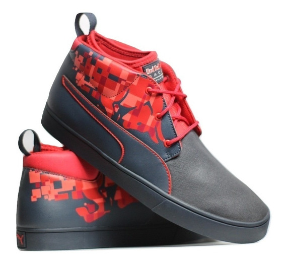 Tênis Puma Red Bull Racing Desert Boot Bulls