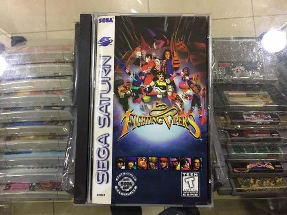 Fighting Vipers Original Sega Saturno Jogo Usado