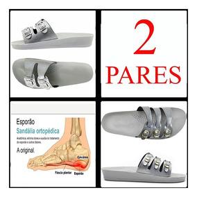 Kit Tamanco Sandalia Barata 2 Pares Anatômico Ortopédico