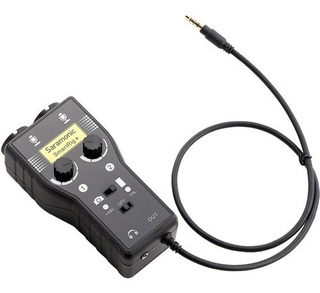 Interfaz De Audio Saramonic Smartrig+ Para Camara Dslr