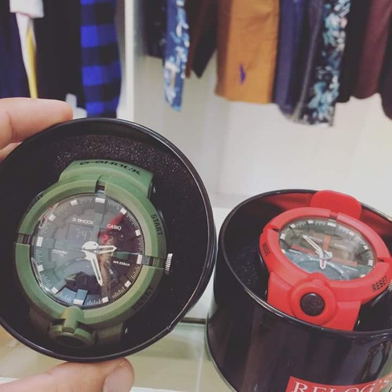 2- Relógios G-shock, Resistente À Água