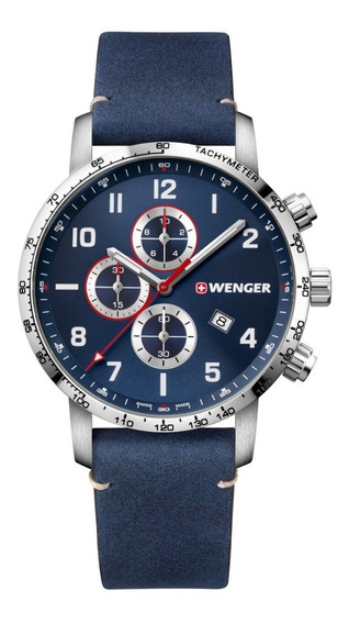 Reloj Suizo Wenger Attitude Chrono Original - Swiss Made