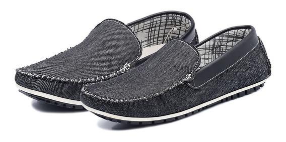 Mocassim Avalon Masculino Docksiders Jeans Super Conforto