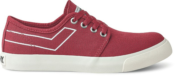 Zapatillas Pony West Ox Canvas Rojo-po206004