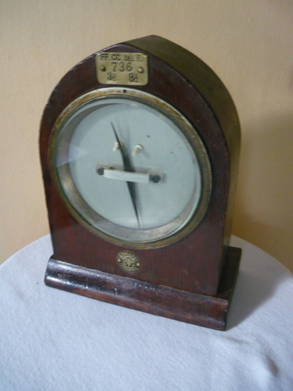 Ferrocarril Antiguo Galvanometro Telegrafo Ingles.