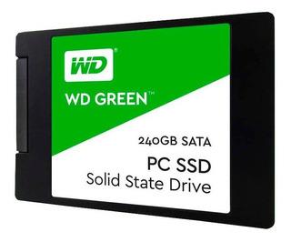 Disco Solido Ssd 240gb Western Digital Green Wd Sata 3 Pce