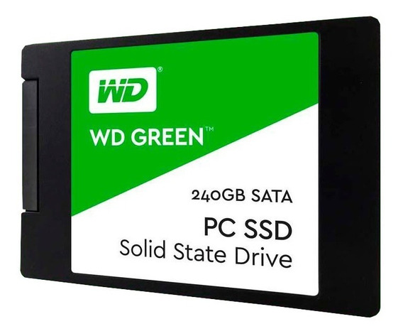 Disco Solido Ssd 240gb Western Digital Green Wd Sata 3 Pce