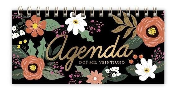 Agenda Pocket 2021 C/ Espiral Semana La Vista 18 X 9 Cm