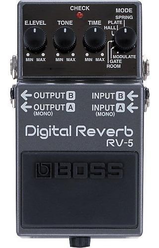 Esquema Elétrico Boss - Rv-5 Reverb