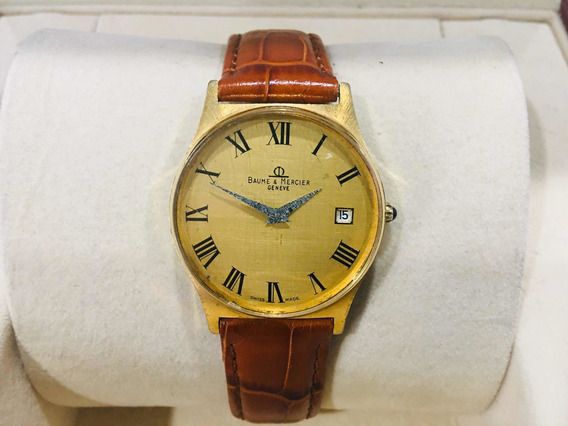 Baume Mercier Vintage Manual Wind Gold Plated 34mm. *