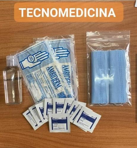 Imagen 1 de 4 de Kit Personal De Protección Y Desinfección Gel Antibacterial