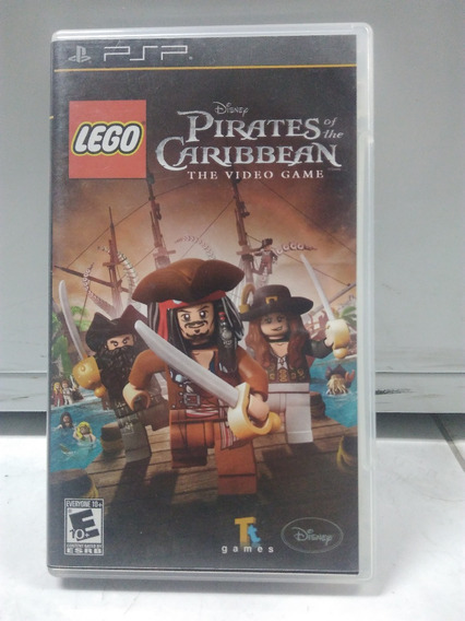 Lego Pirates Of The Caribbean - Psp - Com Caixa