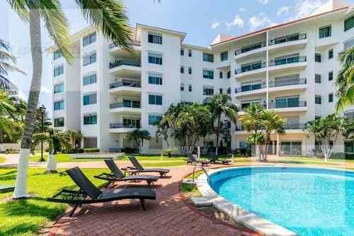 Departamento En Venta,isla Dorada,zona Hotelera, Cancún