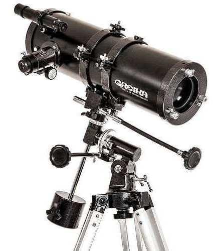 Telescópio Profissional Greika Equatorial 1000x114mm 1000114