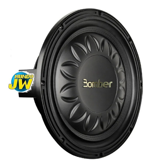 Subwoofer Slim 8 Pul Bomber High Power Chato 300 Watts Rms