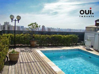 Cobertura Residencial À Venda, Campo Belo, São Paulo - Co0174. - Co0174
