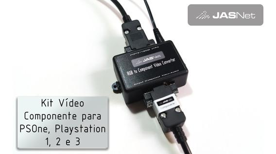 Kit Conversor Rgb Componente Playstation E Psone (jasnet)