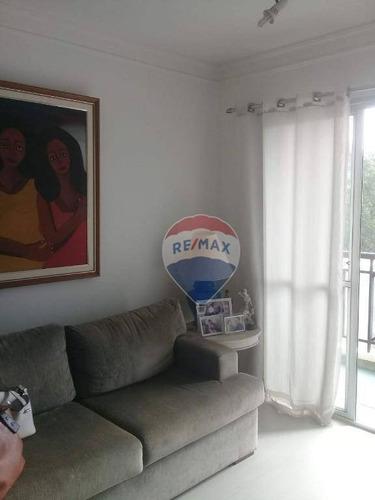 Imagem 1 de 22 de Apartamento Com 1 Dormitório À Venda, 48 M² Por R$ 310.000 - Jardim Ampliação - São Paulo/sp - Ap0727