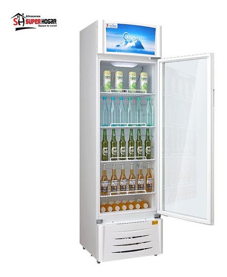 Vitrina Midea Refrigerador Enfriador Nevera Vertical 320l Pi