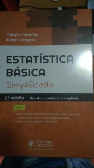 Estatística Básica Simplificada - Sérgio Carvalho