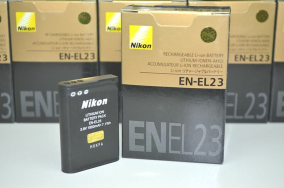 Bateria En-el23 Para Nikon Coolpix P900 P600 P610 S810