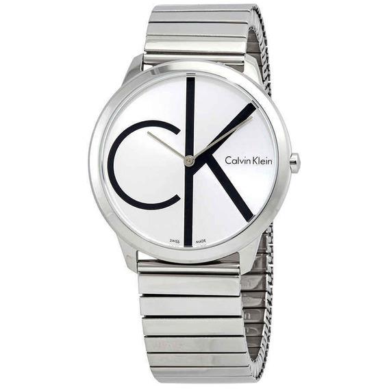 Reloj Calvin Klein Hombre Silver Dial K3m211z6