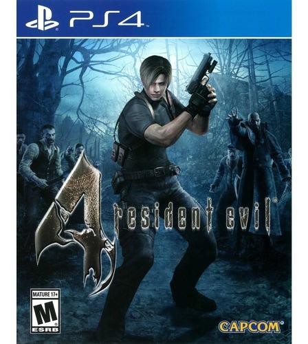 Resident Evil 4 Ps4 ¡totalmente Nuevo Y Sellado¡
