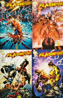 Flashpoint - Miniserie Completa - Ecc - Castellano - Pack X4
