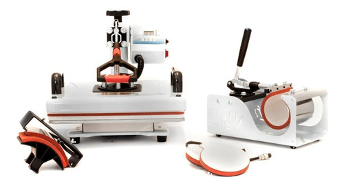 Estampadora Sublimadora Plancha Multifunción 5 En 1 Metal