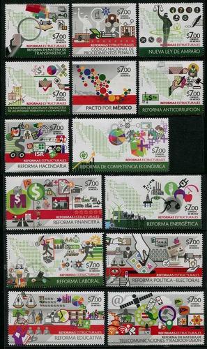 Imagen 1 de 1 de México 2015 : Reformas Estructurales - Peña Nieto - Progreso