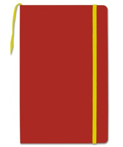 Bookfactory Red Journal /cuaderno De Escritura /diario En