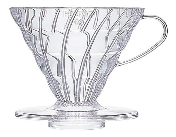 Hario V60 Café Gotero 02 Transparente / Acrilico