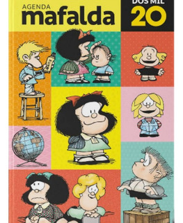 Agenda Mafalda 2020 Encuadernada