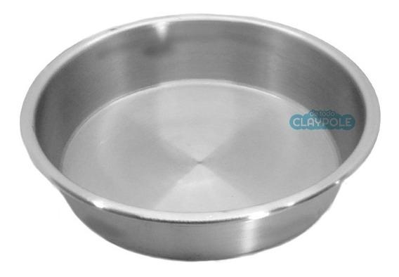Tortera Redonda De Aluminio Nº20 - Alto 6.5 Cms