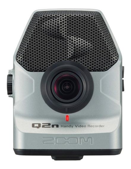 Zoom Q2n Gravador Digital De Áudio E Vídeo - Prata