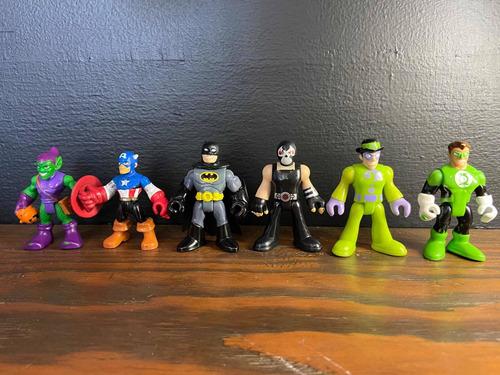 Imagen 1 de 2 de Imaginext Dc Y Marvel Playskool Figuras. Precio Por Pieza.