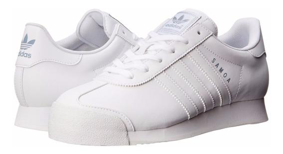 Zapatos Deportivos adidas Samoa Color Blanco