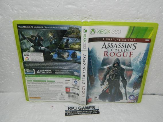 Assassins Creed Rogue Original Midia Fisica Caixa Xbox 360
