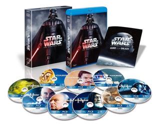 Star Wars The Complete Saga 9 Blu Ray Nuevo Importado